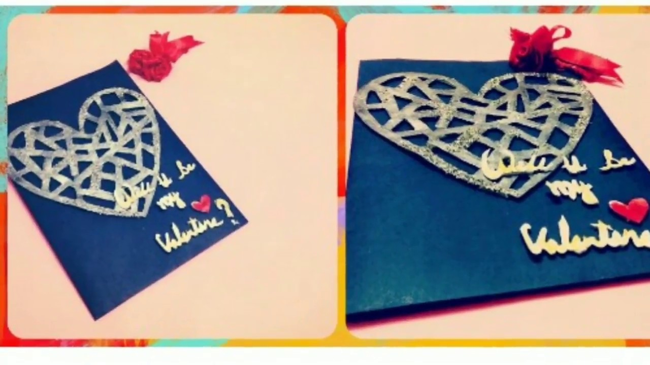 Valentine Special LOVE Greeting Card   How to make 3D Proposal Cards