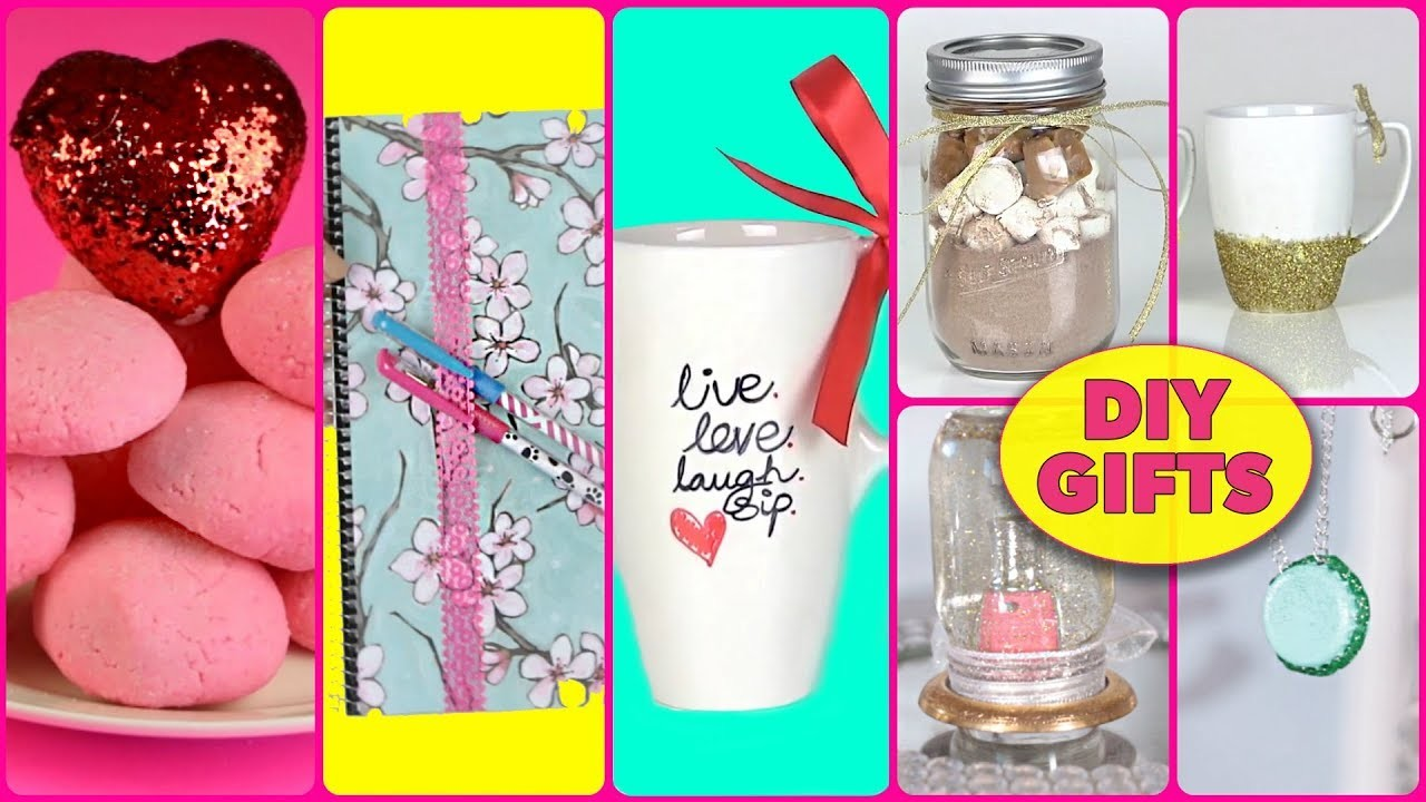 DIY Gifts & DIY Last Minute Gift Ideas for Best Friend, Boyfriend, Mom, Her