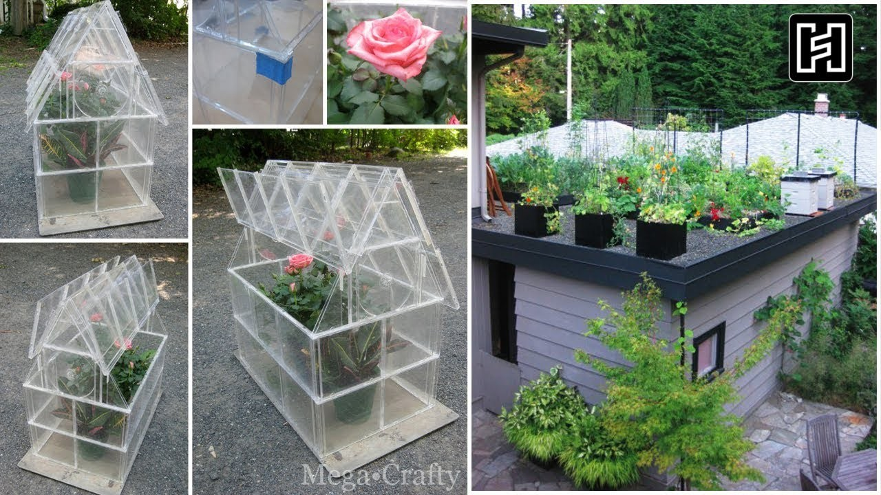 ???? 5 DIY Organizing Ideas for Rooftop Garden ????