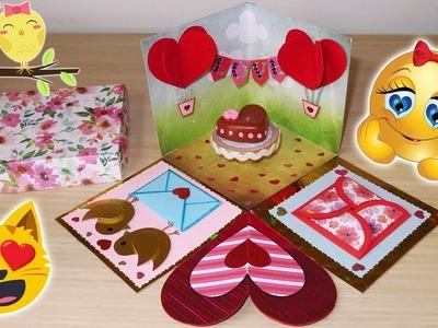 ????????Anniversary. Valentine's Day Special Explosion Box TUTORIAL DIY????????