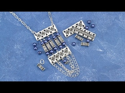 Artbeads Tutorial - How to Make a TierraCast Bar Link Focal with Tracy Gonzales
