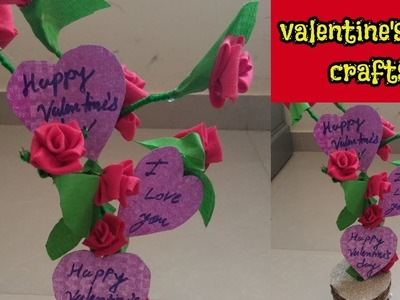 Best out of waste|valentine's day gift crafts|crafts and diy