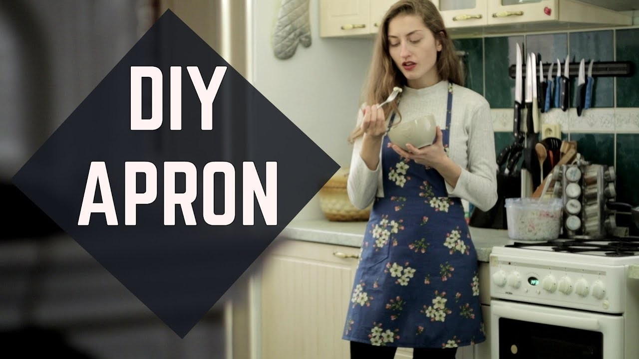DIY Apron for beginners. DIY zástera pre začiatočníkov (SK,EN sub)