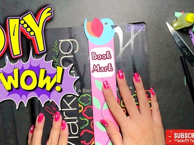 [DIY] Cute & easy bookmarks| EASY BOOKMARKS DIY| BACK TO SCHOOL DIYs