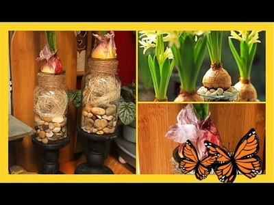 ~DIY~ Dollar Tree Faux Forced Bulbs