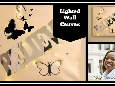 DIY: Light Wall Canvas and Scentbird Product Review