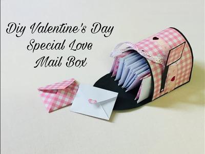 Diy Love Mail Box | Diy Valentine's Special Mail Box | Diy Mail Box |