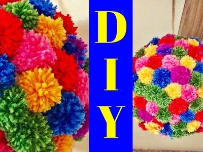 DIY. Pom - Pom Decor
