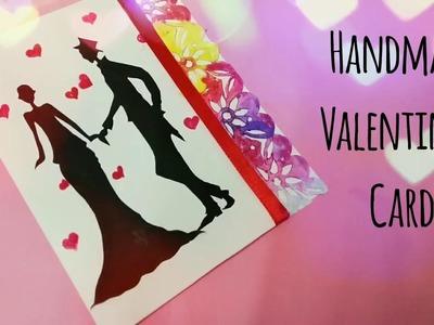 DIY Valentine's Card | Valentine's Day Handmade Card | Valentine Card for Gf or Bf