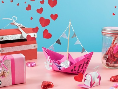 DIY Valentine's Day Chocolate Boxes
