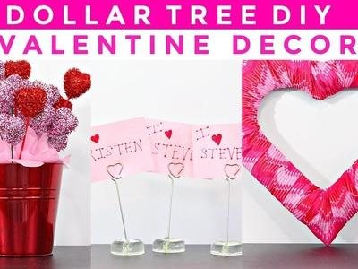 DOLLAR TREE DIY |  3 VALENTINE DECOR PIECES