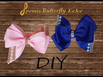 Grosgrain Ribbon Hair Bow - DIY - Schleife - Kanzashi - Masna