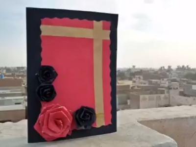Handmade Anniversary Card | Valentine Card | Wedding Anniversary Cards|| Greeting Cards