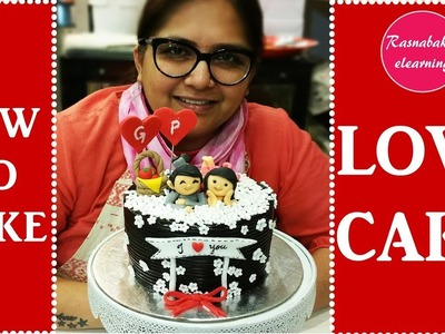 How to make love cake : Cake decorating tutorial