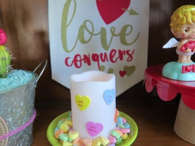 Last Minute Dollar Tree Valentine's Day DIY Gifts and Decorations
