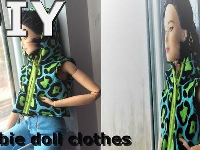 Mini DIY DollHouse.How to make doll clothes. sweat shirt