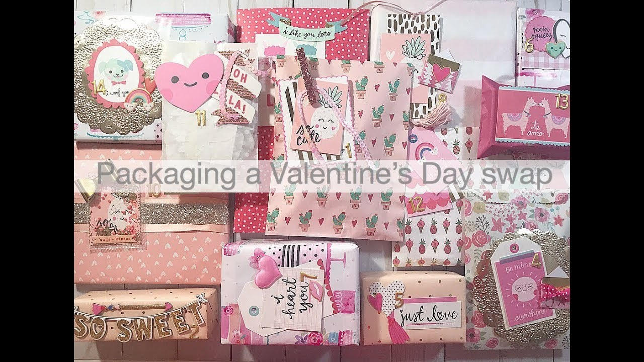 Packing a Valentine's day swap | Crate Paper Main Squeeze