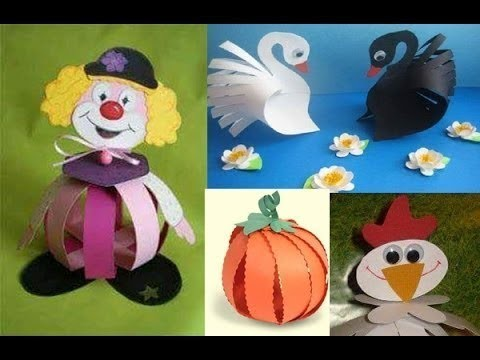 Paper Craft Ideas For Kids.