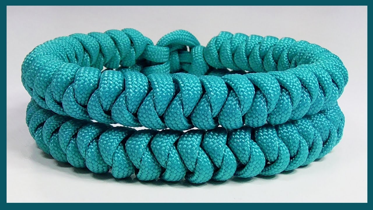 how to make an adjustable paracord bracelet without a buckle