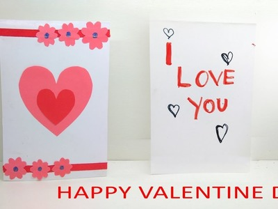 Pop up Valentines Cards Handmade Greeting Love Card - anti valentines day cards - Lina's Craft Club