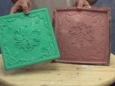 Resin Casting Tutorial: Antique Copper Finish on EasyFlo 60 Casting Resin