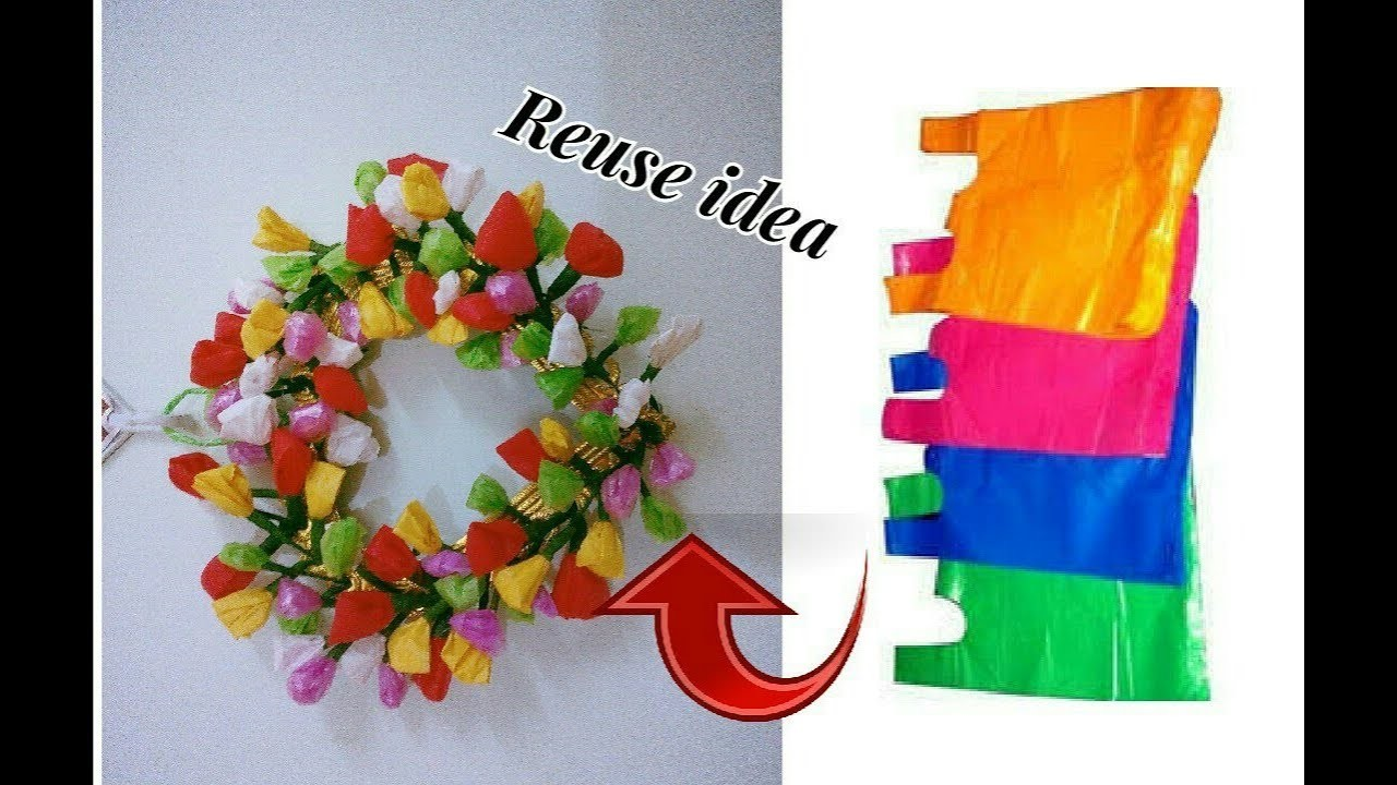 Reuse Idea With Plastic Carry Bags