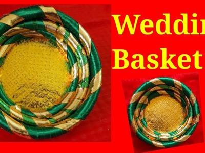 Wedding Basket using Pipe | DIY How to make Decorative Wedding Basket | Engagement Basket | Rukhwat