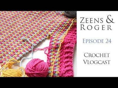 Zeens & Roger 24. Crochet podcast. It must be the crisps.