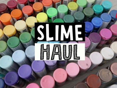 $200+ SLIME SUPPLIES HAUL!