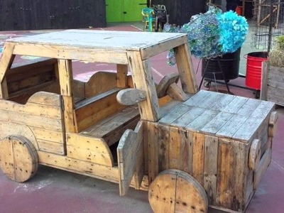 24 nice decor ideas with pallets