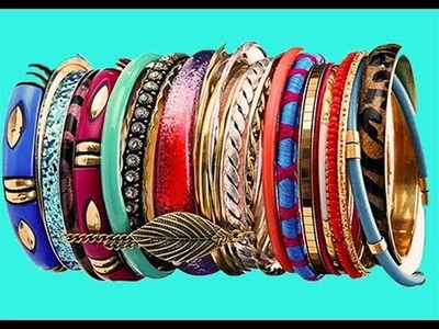 5 Awesome And Unique Ways to Store And Organize Bangles And Bracelets |Storage Ideas Compilation