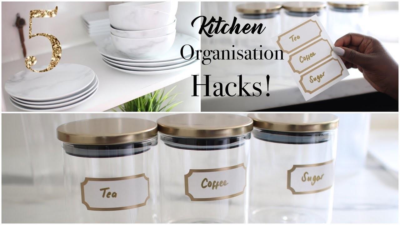 5 KITCHEN ORGANISATION HACKS YOU REALLY NEED! VLOGMAS DAY 12