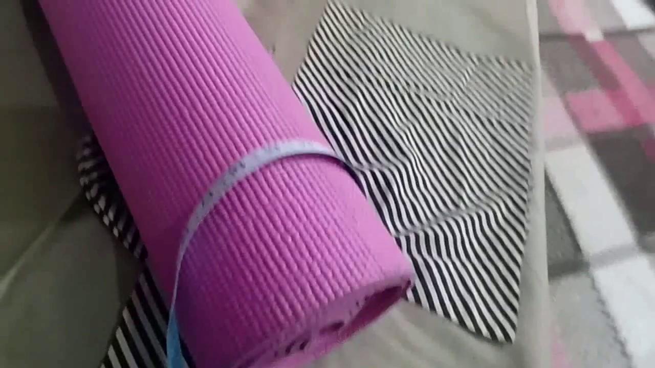 Bag for Yoga Mat. DIY.Best out of Waste