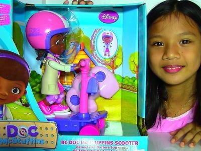 Disney RC Doc McStuffins Scooter - Doc McStuffins Doll