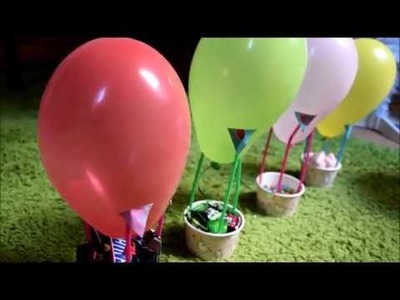 DIY balloon Kids Party decoration, Candy Corner at home