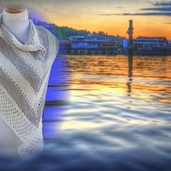Harbor Lights Shawl