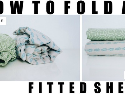 How to Fold a Fitted Sheet - Quick.Simple | Rescue My Space