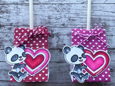 How To Make A Valentine Lollipop Holder | Your Next Stamp | Stamp Create Repeat
