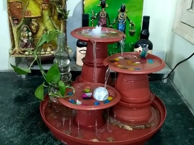 How to make a water fountain ll table top water fountain ll terracotta replica hand made fountain