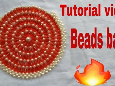 How to make easy and simple way  innovative design beads bag (পুঁতির ব্যাগ)