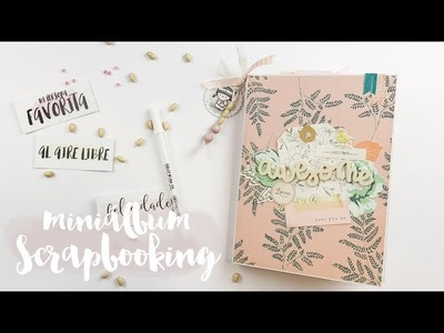 MIni álbum SCRAPBOOKING para snailmail TUTORIAL