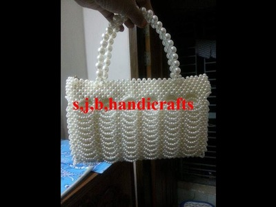 Part:1\how to make a beaded bag \ring bag