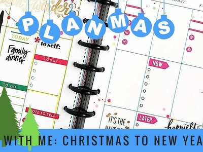 Plan with Me: Christmas to New Years Eve. PLANMAS Day 23 | Plans by Rochelle