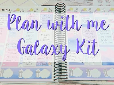 Plan With Me - Galaxy Kit