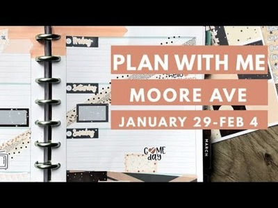 Plan With Me. January 29-February 4. Happy Planner