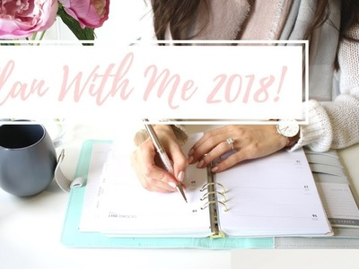 PLAN WITH ME | PLANNER ORGANIZATION AND SETUP 2018!