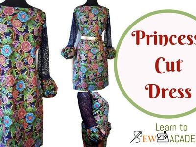 Princess Cut Dress | Simple Cutting of a Dress with Princess Cut