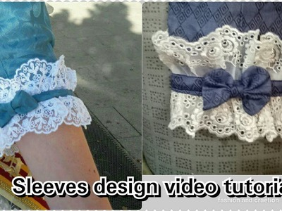 Sleeves Design Cutting and Stitching Tutorial video for girls