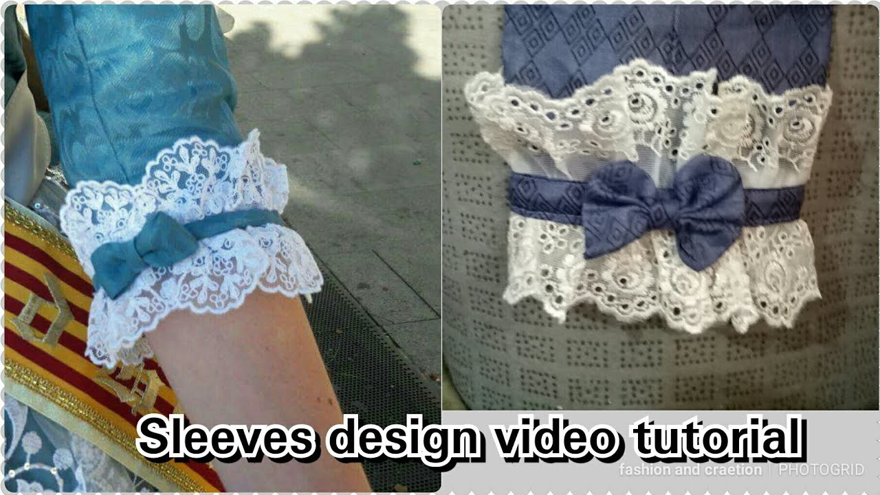 370b53a789e25 Sleeves Design Cutting and Stitching Tutorial video for girls