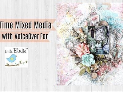 Spring Time Layout Tutorial with voice over for Little Birdie Crafts   Aola DIY